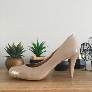 🆕 ALDO nude beige high heels pumps